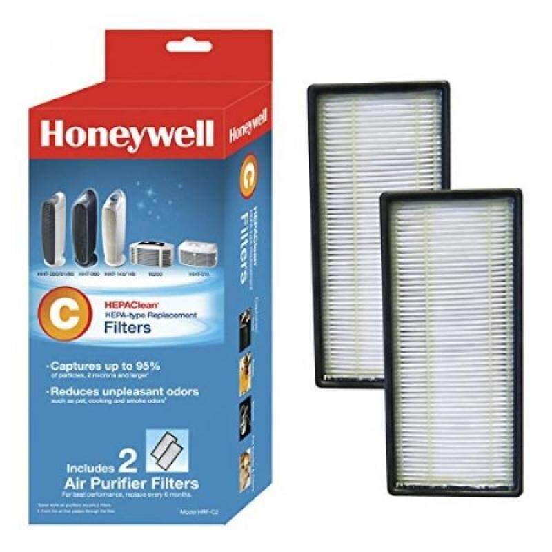 Honeywell HEPAClean Air Purifier Replacement Filter 2 Pack, HRF-C2/Filter (C) - intl Singapore