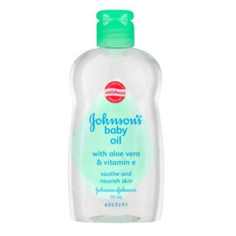 Johnson's Baby Oil 50ml