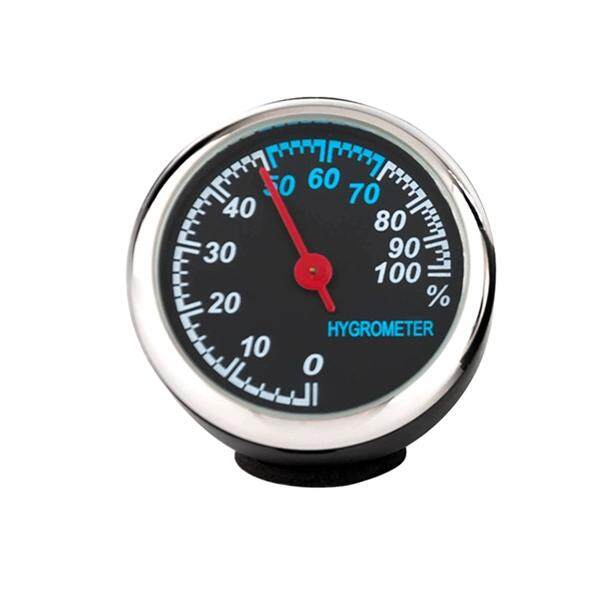 Automobile Electronic Clock Luminous Mechanical Clock Thermometer Hygrometer Steel Core Pointer For Car (hygrometer) By Eshopdeal.