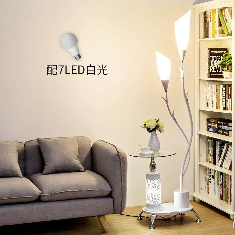 Coffee Table Floor Lamp Living Room Sofa Bedroom Bedside Study Minimalist Modern Creative Nordic Vertical Table Lamp - intl