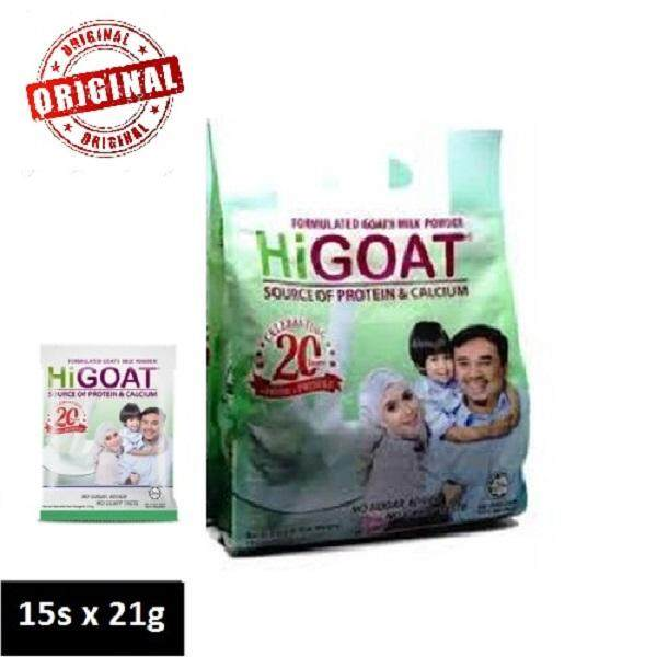 HR Higoat Milk Powder Susu Tepung (15packet x 21g) 100% Original