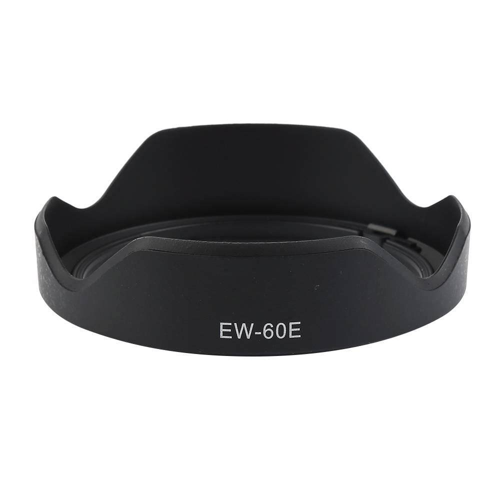 Yuero EW-60E Twist-lock Mounting Camera Lens Hood For Canon EF-M 11-22mm f/4-5.6 IS STM Prevent Glare
