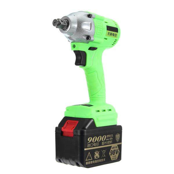 98V Cordless Lithium-Ion Electric Impact Wrench Brushless Motor - intl