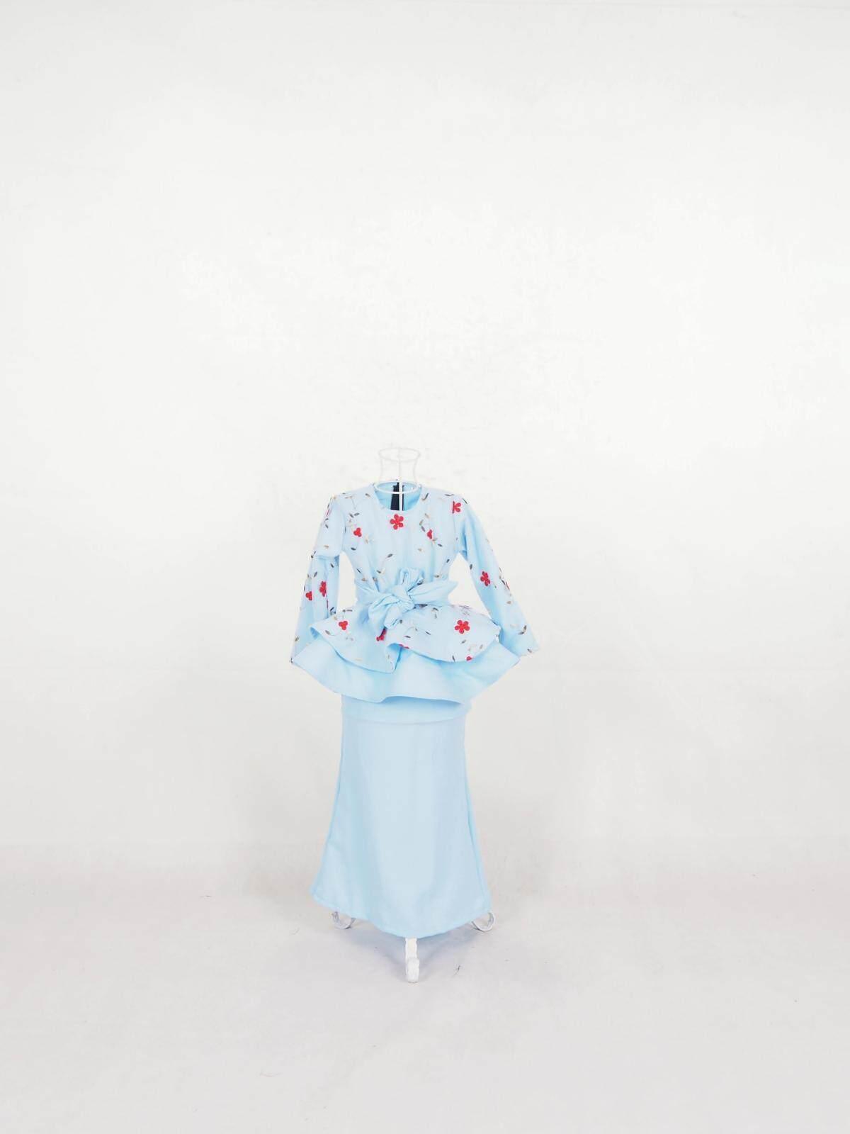 Muslim Kid Rose Net Peplum Baju Kurung / Anisa Peplum Rose Net Baju Kurung Kids (7-12Years) / Kanak-Kanak / Budak-budak / Girls Dresses / Ready Stock / Moden Baju Kurung kid 2021 / Murah / Ship from Malaysia / Hot Product