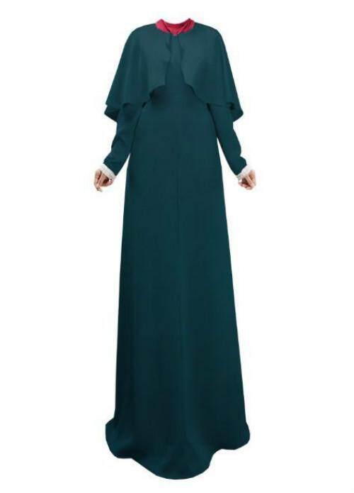Muslim Dewasa Fashion Gamis Lipit Orang Muslim Turki Dubai Speaker Lengan Abaya Muslim Jubah Arab Ibadah