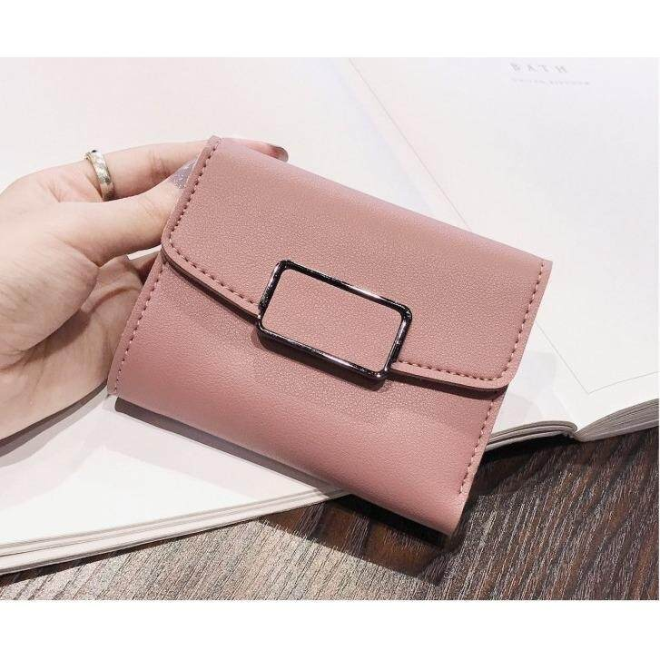 Bolster Store Women Ladies Small Mini Wallet Purse Short Flap Fashion Wallet Dompet Kecik Pendek Wanita