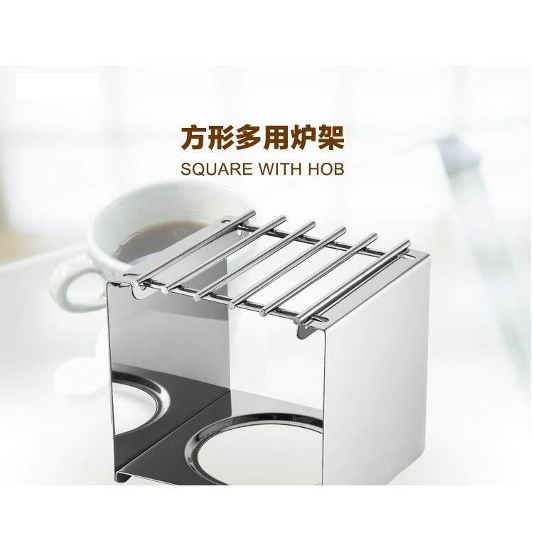 Stainless steel square stove frame/ Mocha Pot stove frame