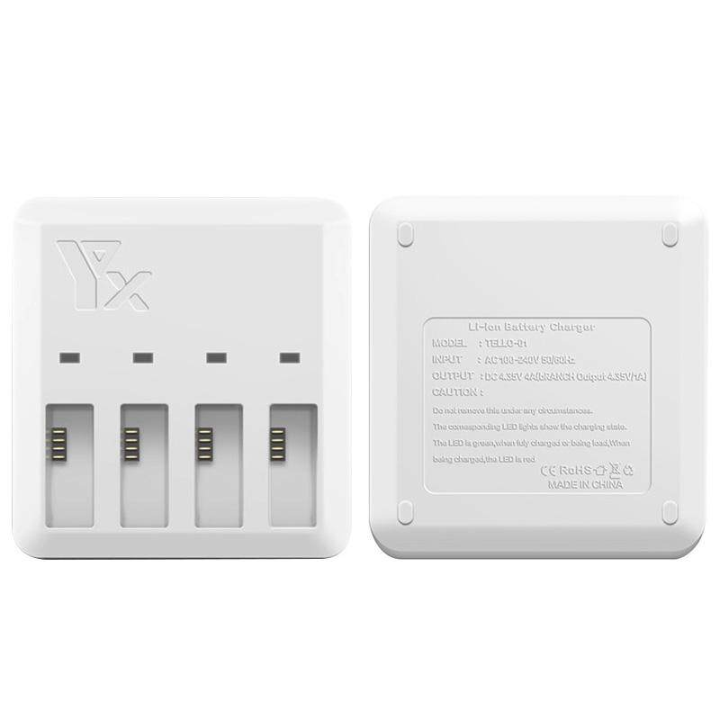 Buy Vigo 4 In 1 Fast Filling Charger With Us Plug For Dji Tello Quick Charging Intelligent Multi Charging Hub Intl Oem