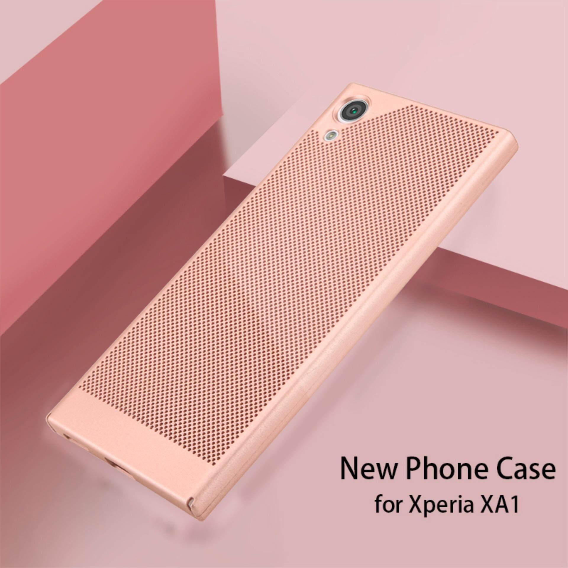 ... Sarung Case untuk Sony Xperia XA1 Keras Buah Case Sampul Belakang G3112 G3116 G3121 Case-