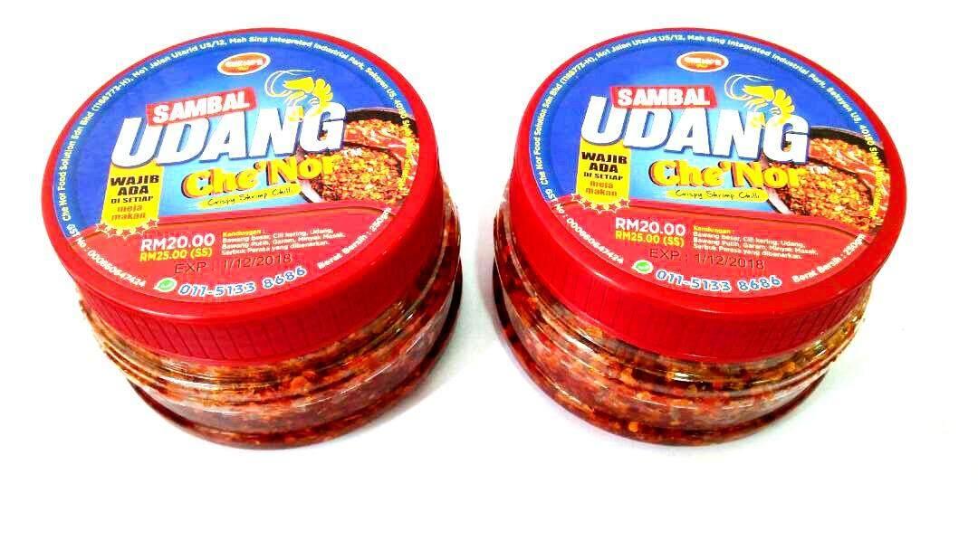 Sambal Udang Che'Nor 250gm ...