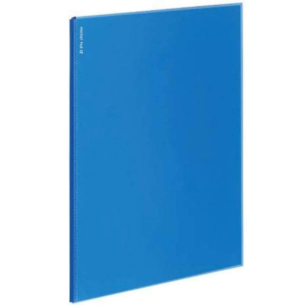 Kokuyo Novita Alpha 6 Pocket Refill - Blue