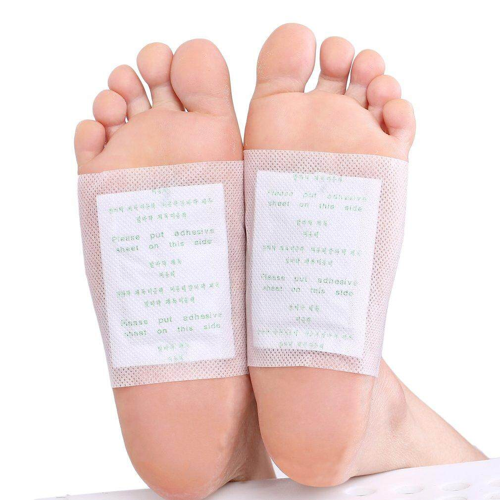 Yika 100 PCS Detox Foot Patch Pads Detoxify Toxins Fit Health Care Detox Pa