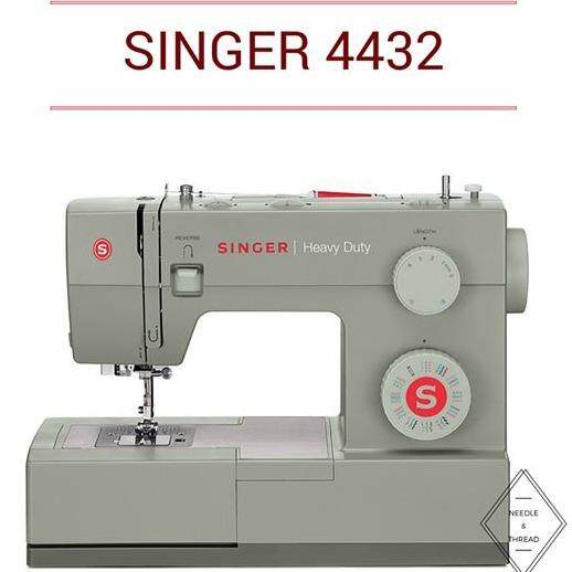 singer 4432 heavy duty portable sewing machine with 32 sewing pattern  Malaysia