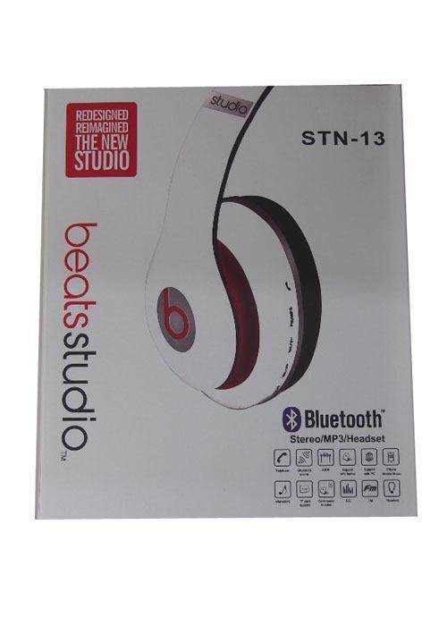 Bluetooth Stereo MP3 Headset WHITE