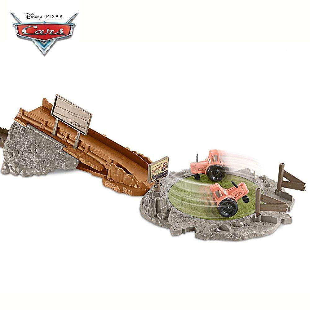 [MATTEL] Disney Cars Smokeys Tractor Challenge Playset (3 yrs+) Toys for boys