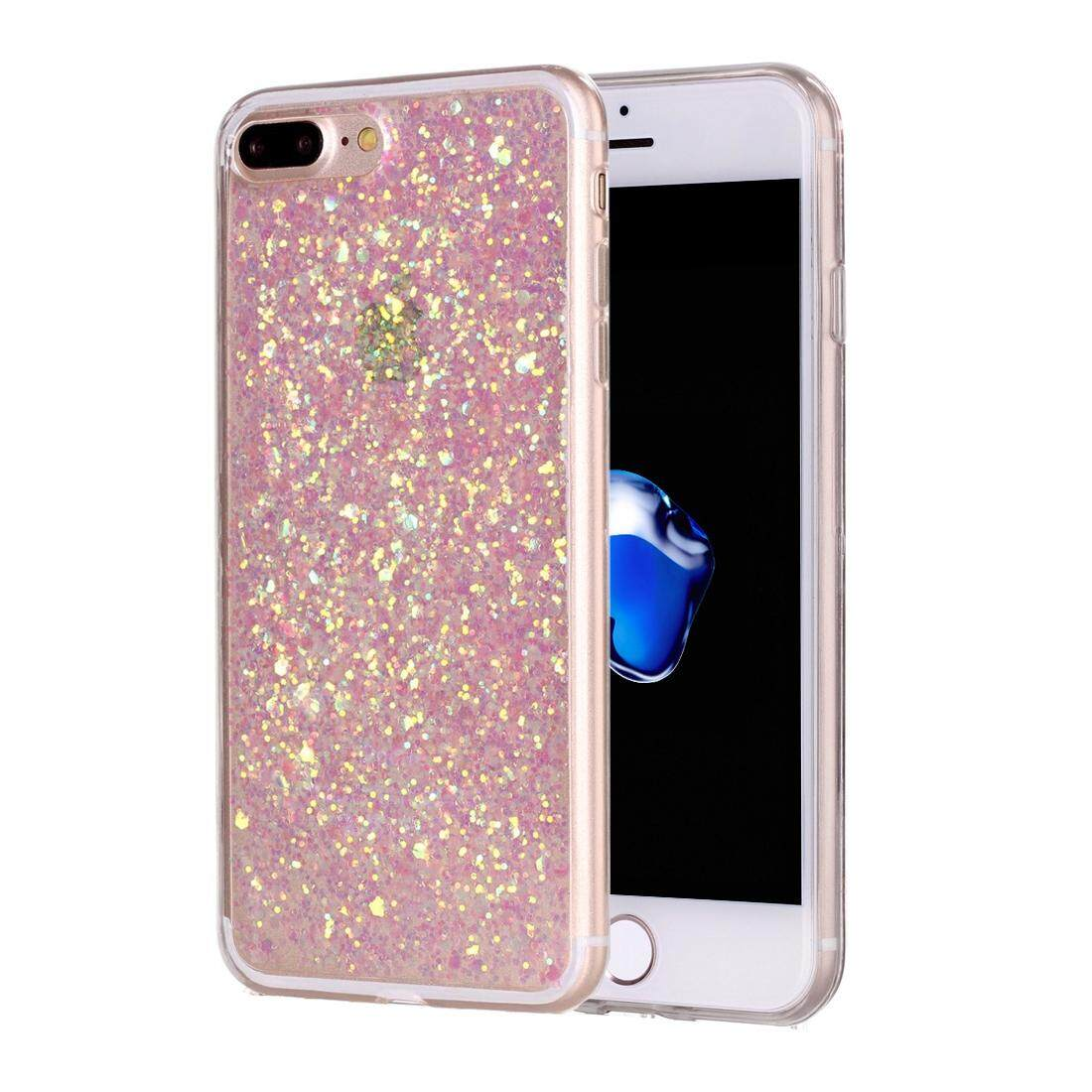 Features Mercury Goospery Jelly Case For Iphone 8 Plus And 7 Sky Slide Bumper Gold Glitter Powder Soft Tpu Protective Pink
