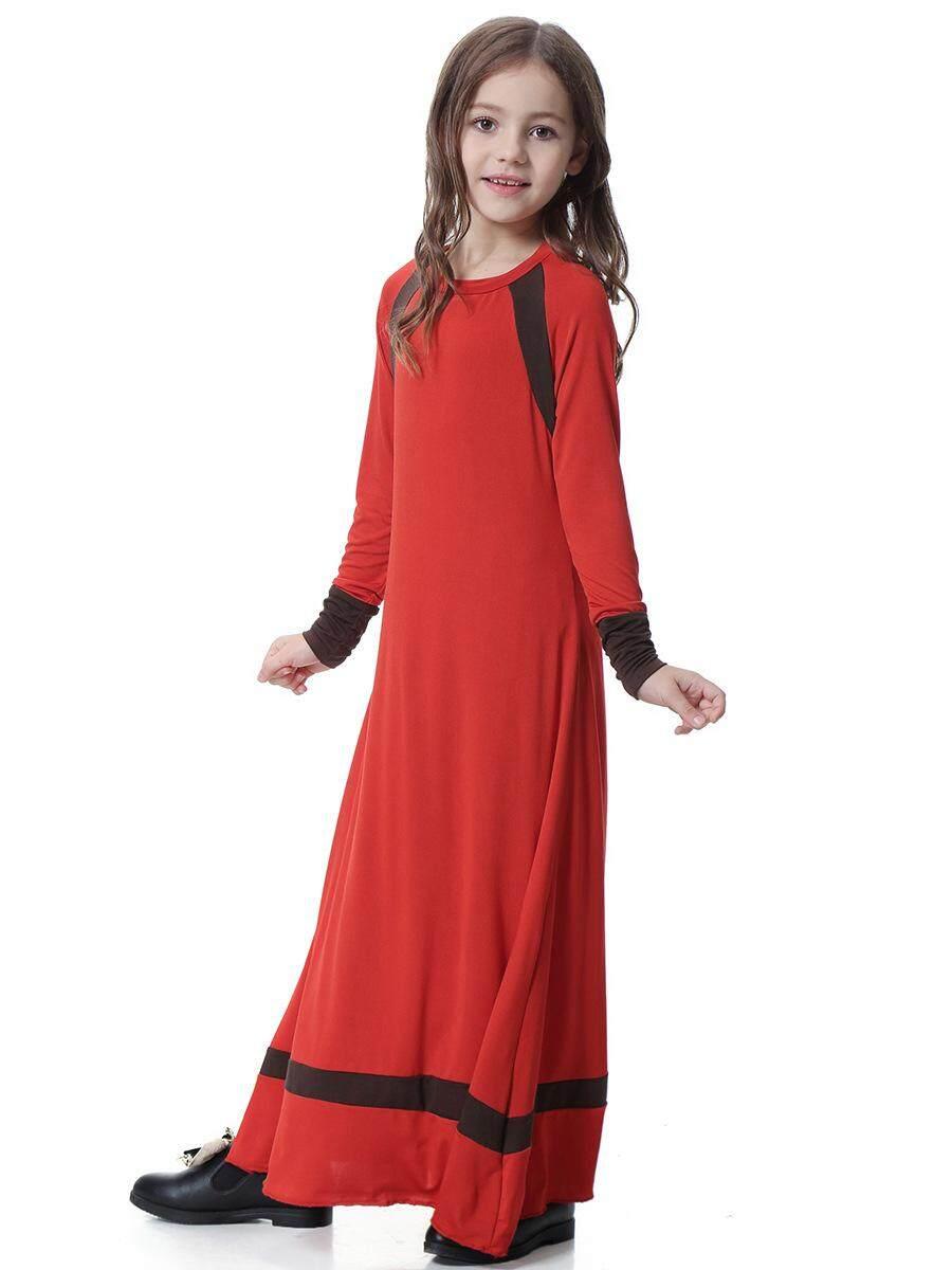 Muslim Arab Timur Tengah Dubai Saudi Malaysia Gadis Gaun Gaun-Internasional