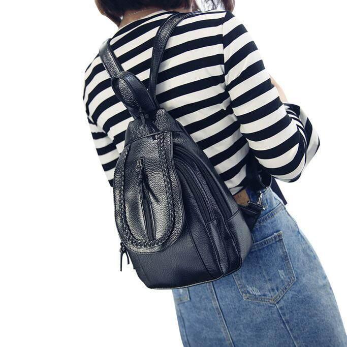 Women Men Backpack Chest Pack Rucksack Travel School Shoulder Bag Satchel
