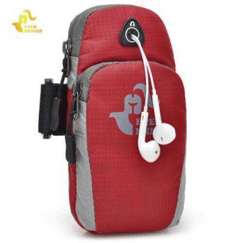 Free Knight FK801 Protective Phone Pouch Outdoor Arm Bag (RED)