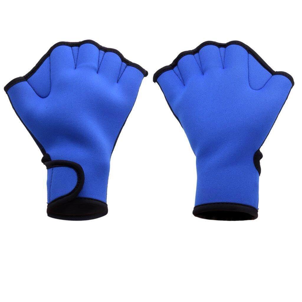 ... Pelatihan Sarung Tangan Source · Starmall Berselancar Air Renang Fingerless Katak Berselaput Sarung Tangan Berenang Bantuan Latihan Dayung