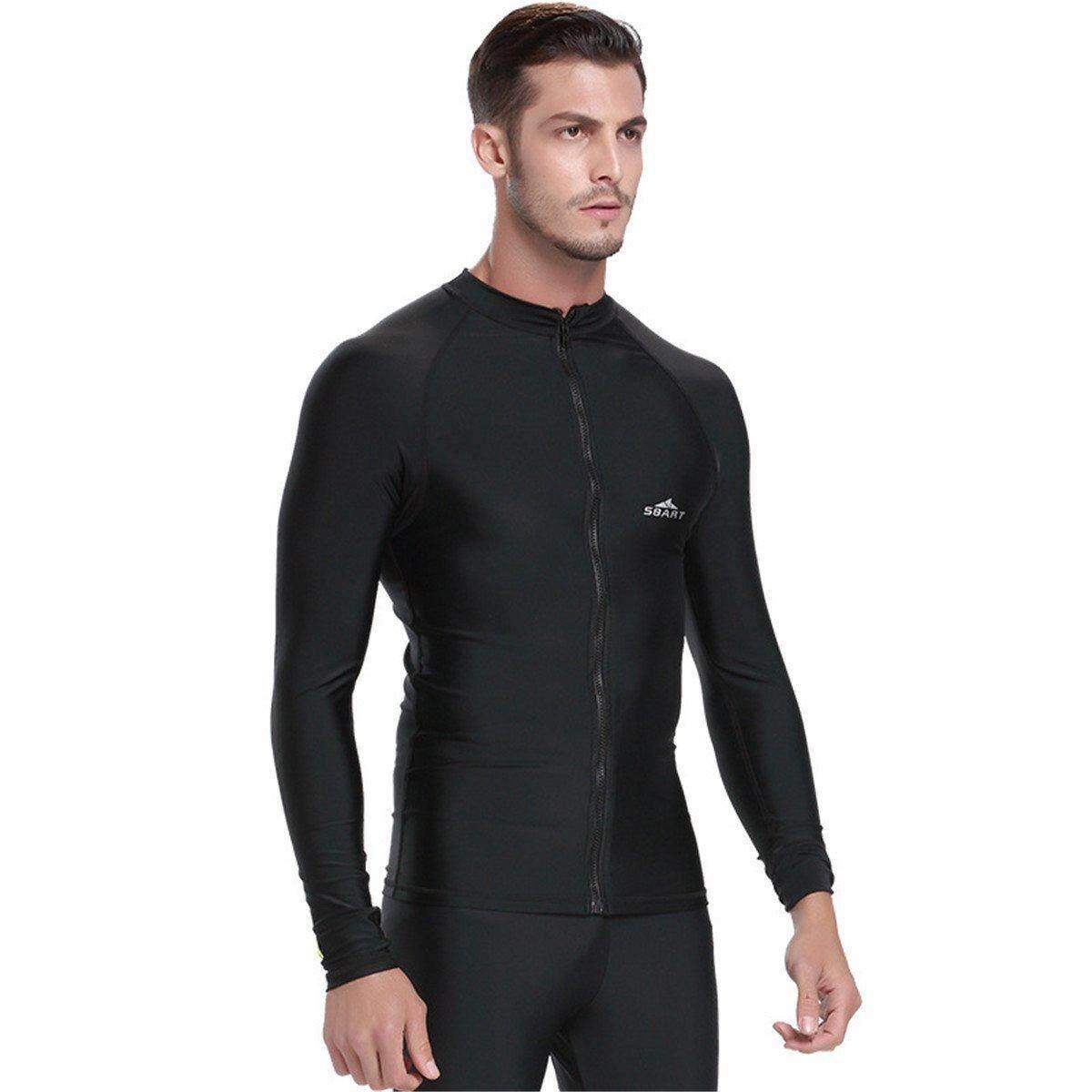 Sbart ชายดำน้ำเสื้อว่ายน้ำว่ายน้ำท่องรังสียูวี Rashguard เสื้อ 745 - นานาชาติ.