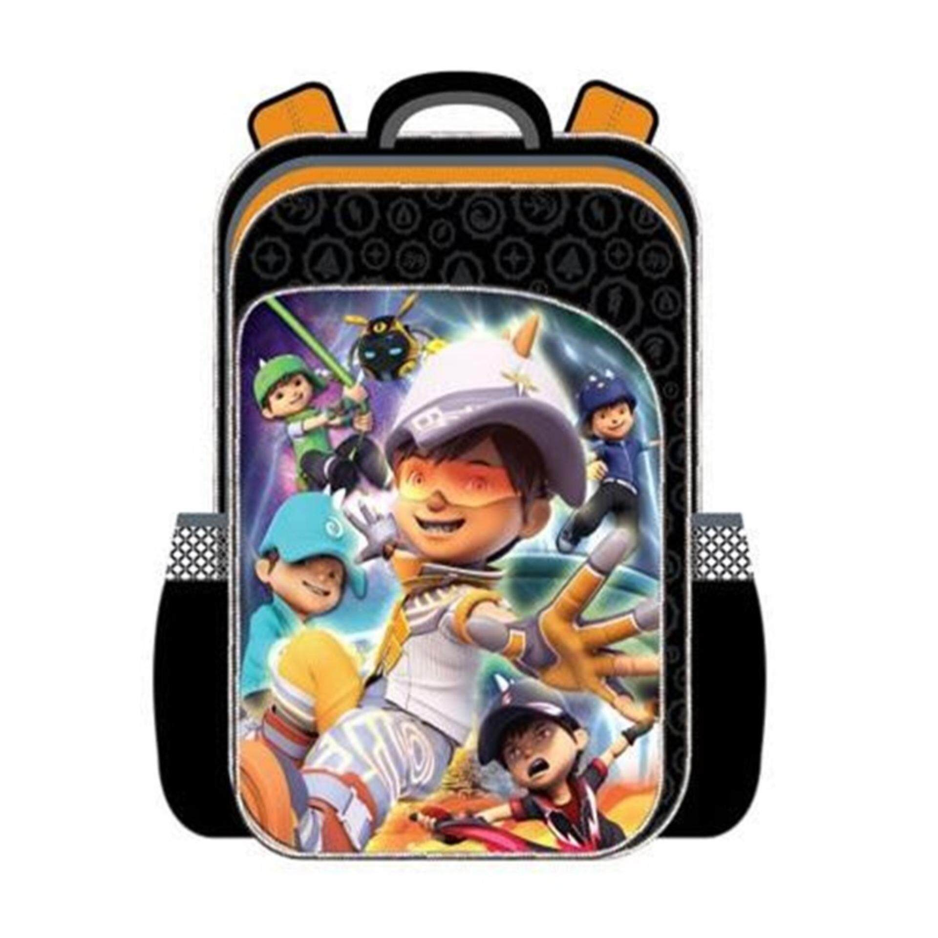 Boboiboy Galaxy Primary School Bag Backpack - Boboiboy Solar