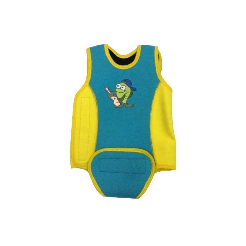 [joybuy]one-Piece 2.5mm Sun Uv Protective Adjustable Infant Baby Swim Suit Bathing Wear Wet Wear - Intl By Joy Buy.