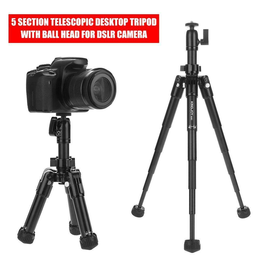 Buy Sell Cheapest Kingjoy Kh Best Quality Product Deals Profesional Video Tripod Kits Vt 2500 5 Section Telescopic Desktop With Ball Head For Dslr Camera Intl