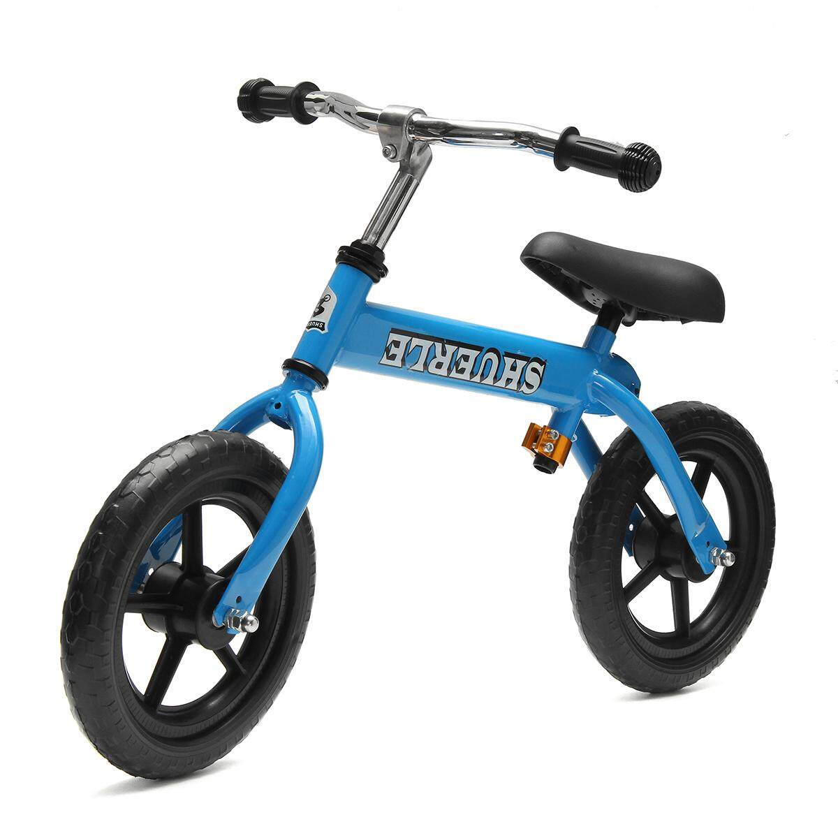 12 Kids Balance Bike Adjustable Handle Seat No-Pedal Learn To Ride Bicycle Gift - intl