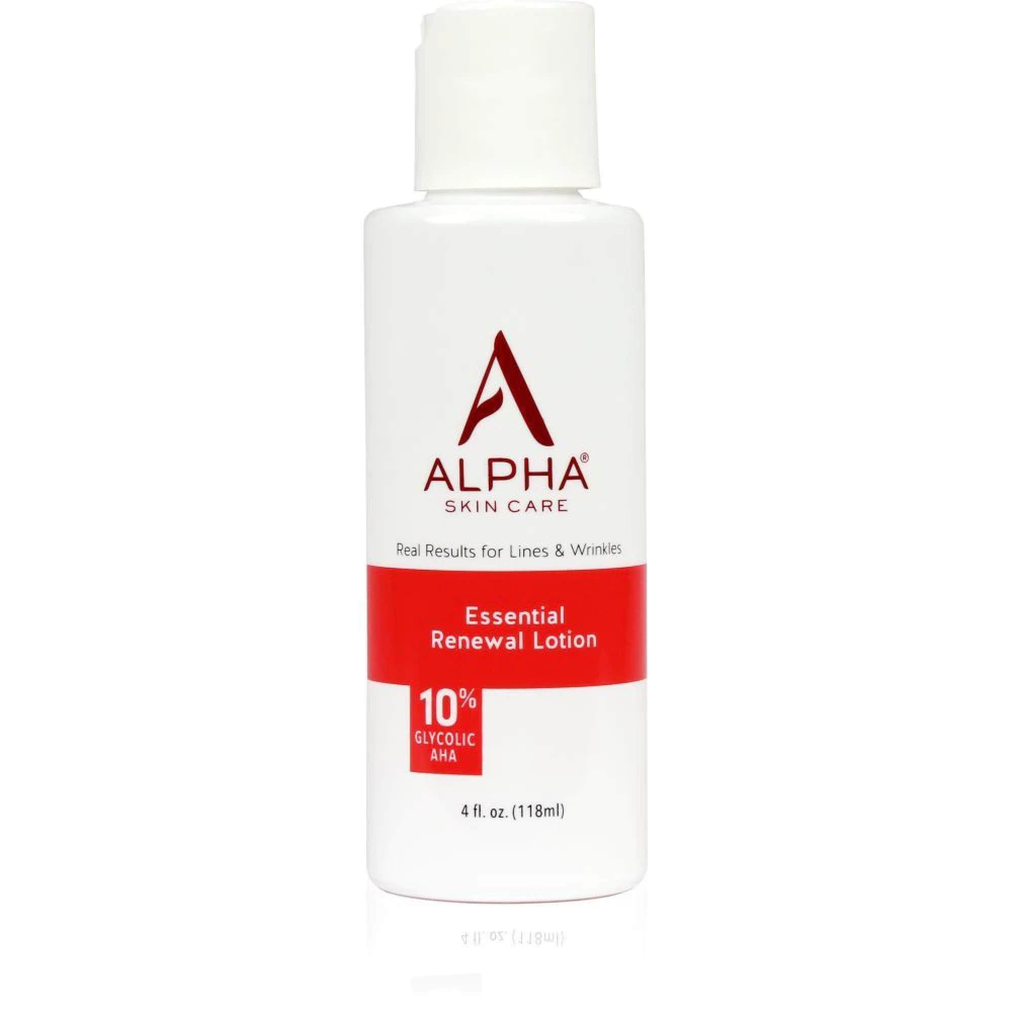 Alpha Skin Care Essential Renewal Lotion with 10% AHA