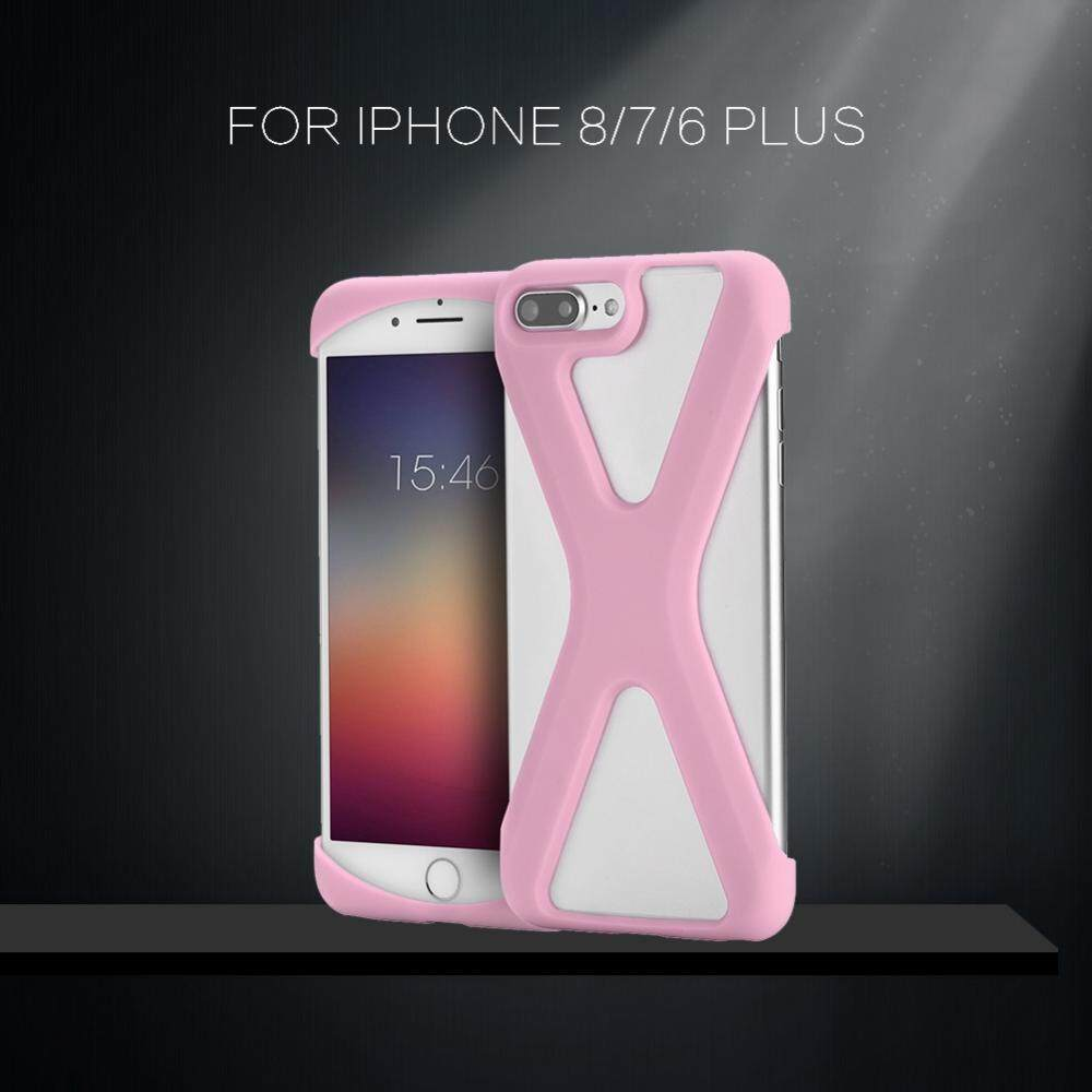 X Shape Phone Case Soft Silicone Cover Shockproof Hollow Out for iPhone 8 / 7 /