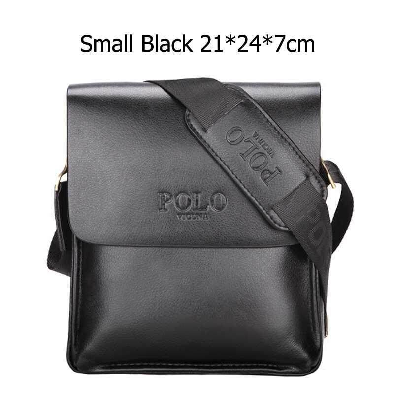60ed705b2f WOUTDSD Famous Brand Leather Men Bag Casual Business Leather Mens Messenger  Bag Vintage Men s Crossbody Bag