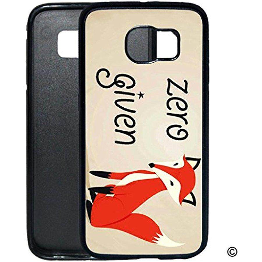 2018 Diy S6 Case Funny Phone Case - Zero Given Case For Samsung Galaxy S6 Black - intl