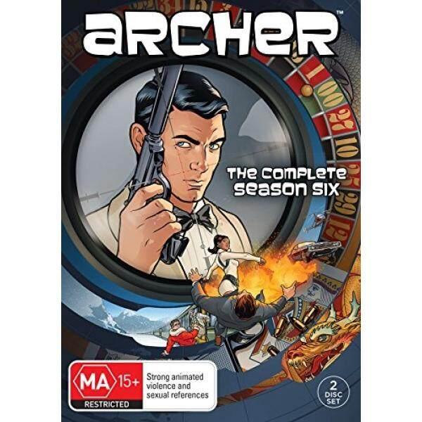 Archer Season 6 DVD - intl