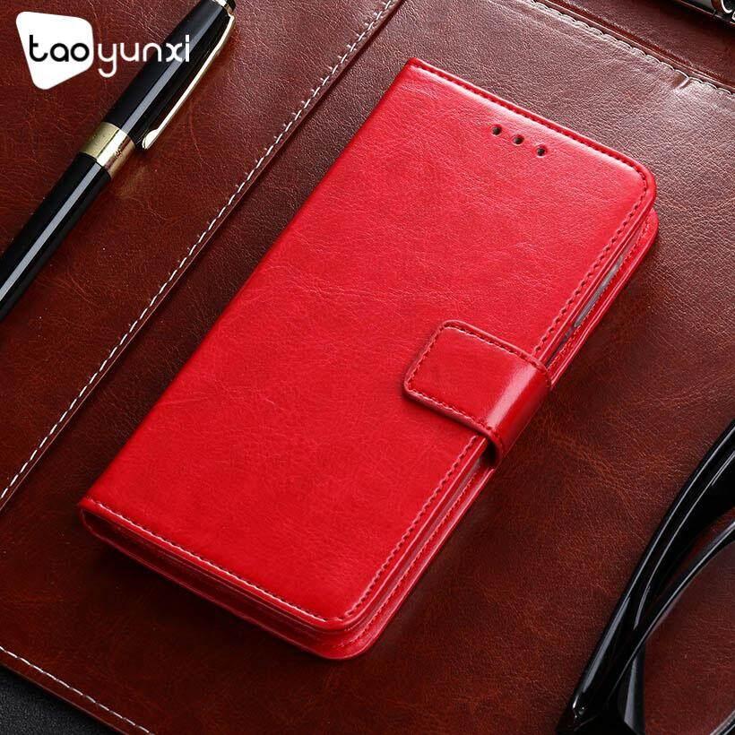 Taoyunxi Telepon Kulit PU Case S Untuk LG Leon Tribute 2 4G LTE C40 H340N Y50 H320 C50 H324 H340 LS665 4.5 sarung Pelindung Inci Flip Pelindung Dompet Anti Debu Sarung Selular