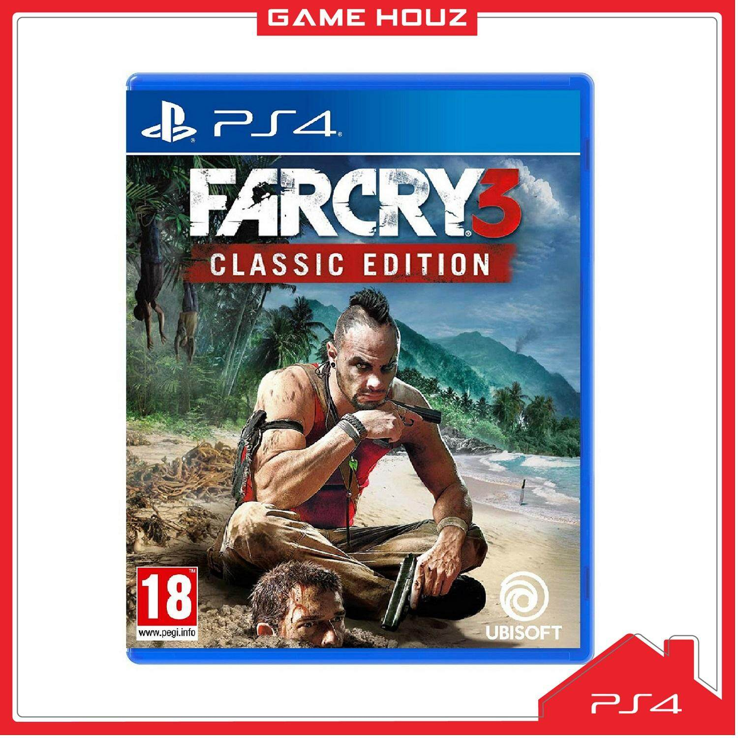 Ps4 Far Cry 3 Classic Edition R3 Eng Chn