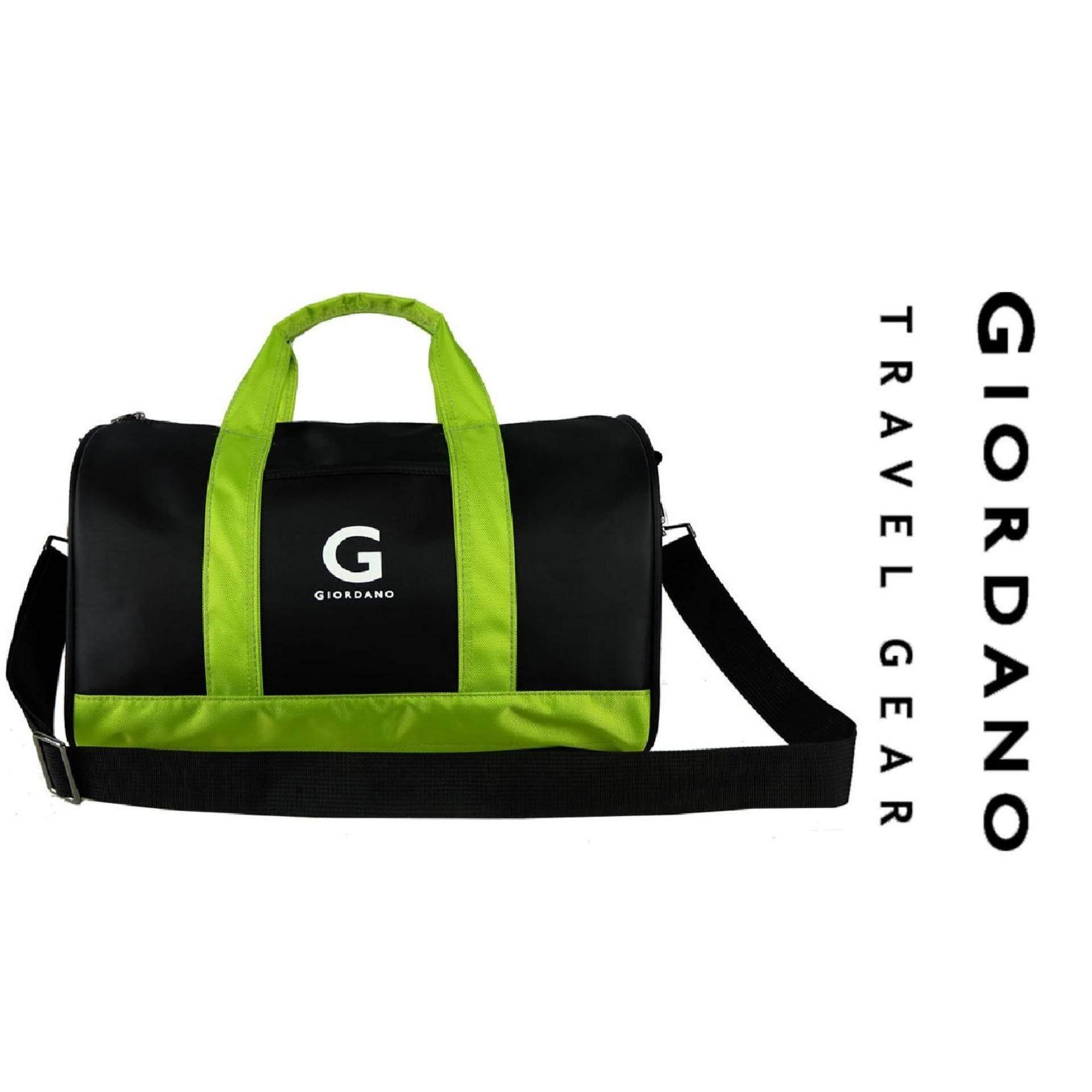 """Giordano 15"""" Stylish Travel Gear GT9609- Green/Black"""