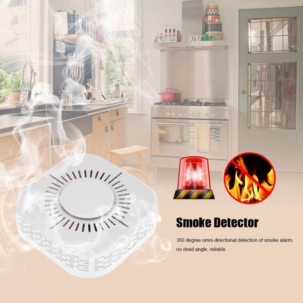 Wireless Smoke Detector Fire Alarm Sensor USB Operated Home Security System - intl