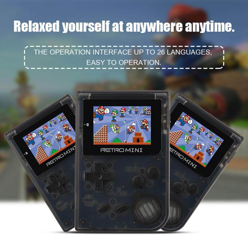 Sale Handheld Color Screen Game Player Built In 40 Portable Mini Retro Games Console Intl China