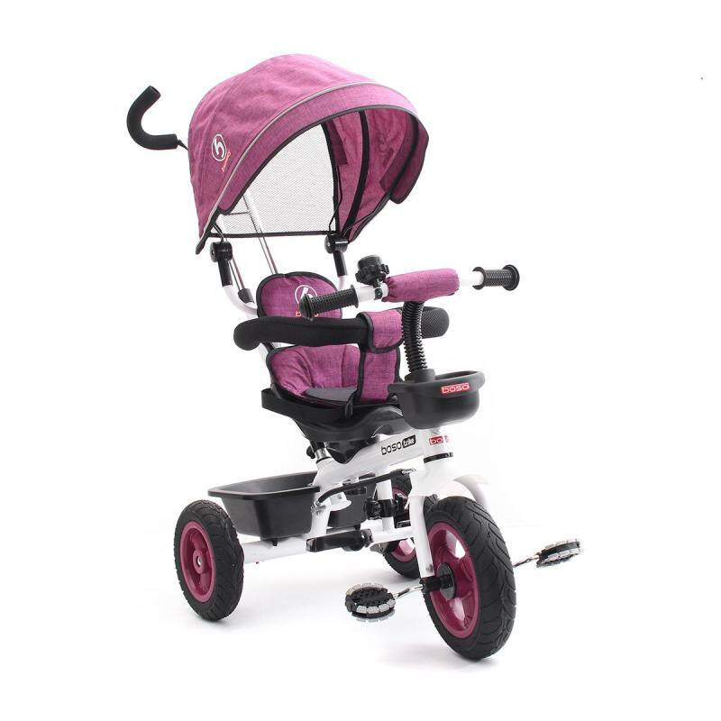 Kid Toddlers Tricycle Bike Trike Handle Stroller Bearing weight: 25KG Packing size: 58*37*38cm - intl Singapore
