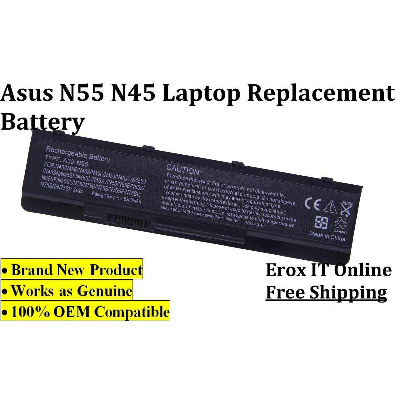 Batteries For Laptop Notebook With Best Price In Malaysia China Battery Charging Circuit Cheap Macbook Asus N55s N55