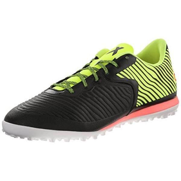 Adidas Performa Pria X 15.2 CG Sepatu Sepak Bola, Inti Hitam/Tenaga Surya Kuning/Blitz Merah S15, 8.5 M Kami-Internasional