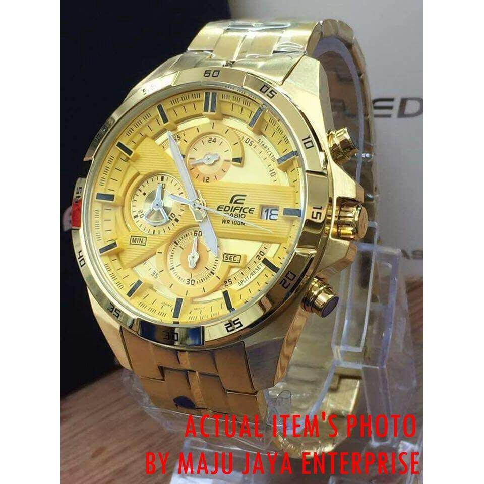 f7c10e0aa9a  Advanced Quality  CASIO   Edifice   Men Casual Watch   Chronograph   All  Function