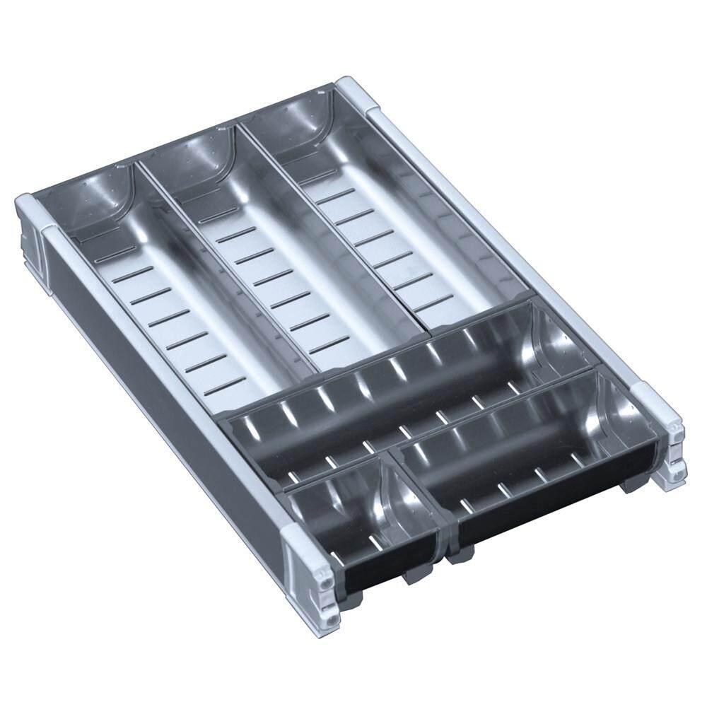 Stainless Steel Cutlery Organiser 278mm