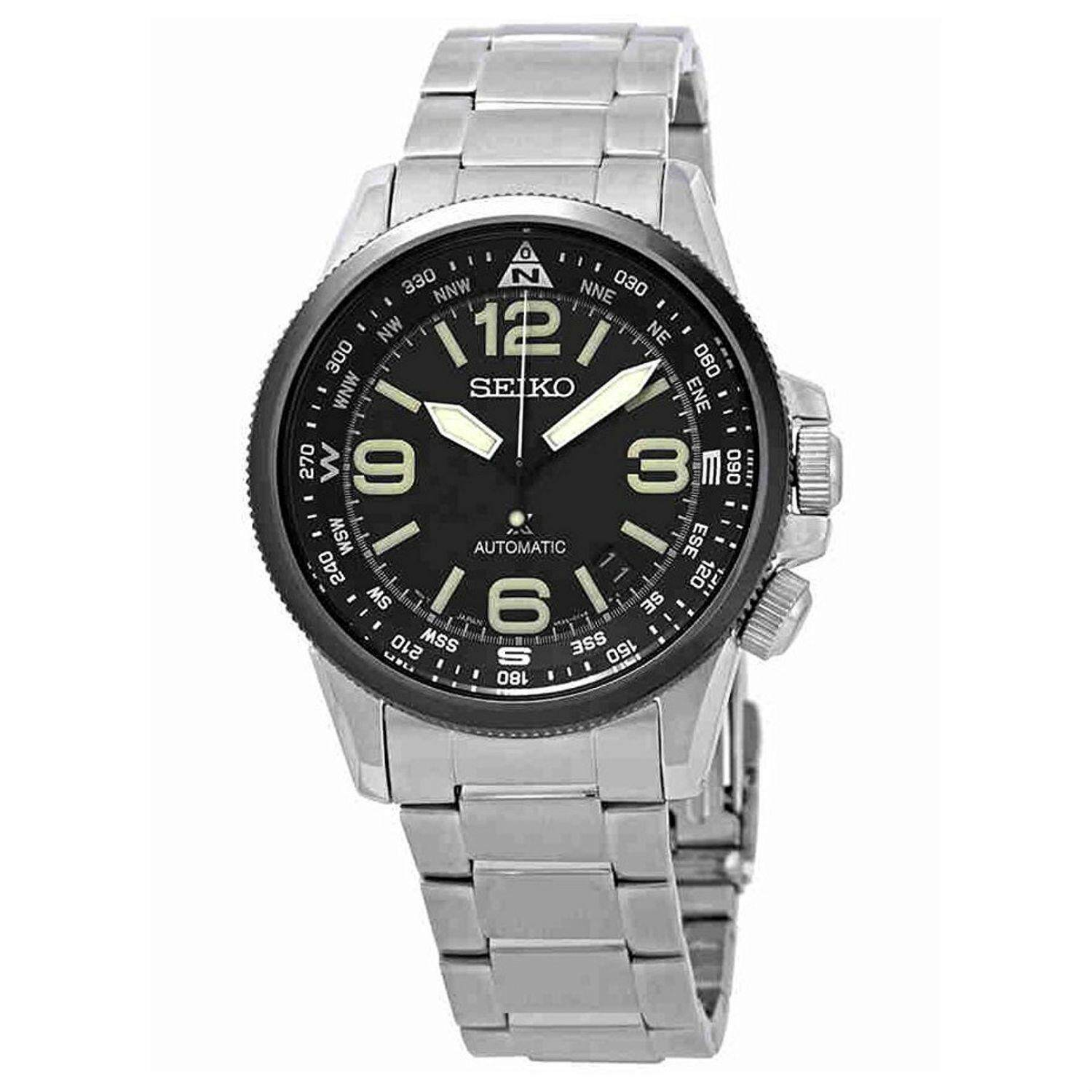 Seiko Automatic Mens Watches Titanium Price In Singapore Prospex Sbdc029j Shogun Black Dial Watchsrpa71j1 Intl