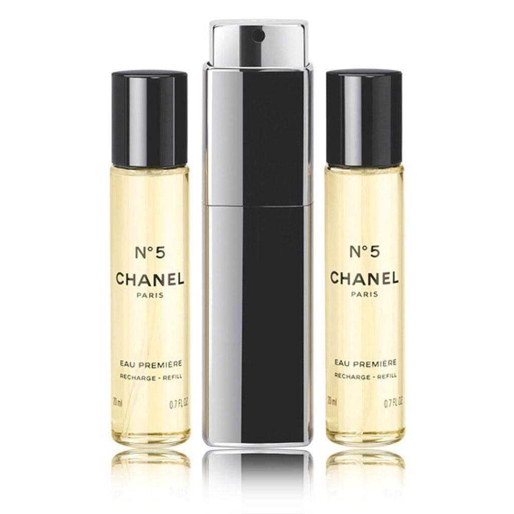 Fitur Chanel No 5 Eau Premiere 2015 For Women Edp 100ml Ready N5 Purse Spray 3x20ml