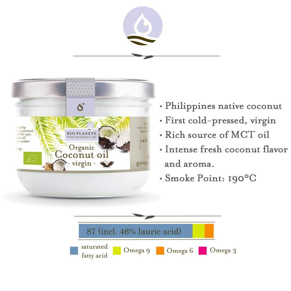 BIO PLANETE Organic Coconut Oil Virgin (400ml)