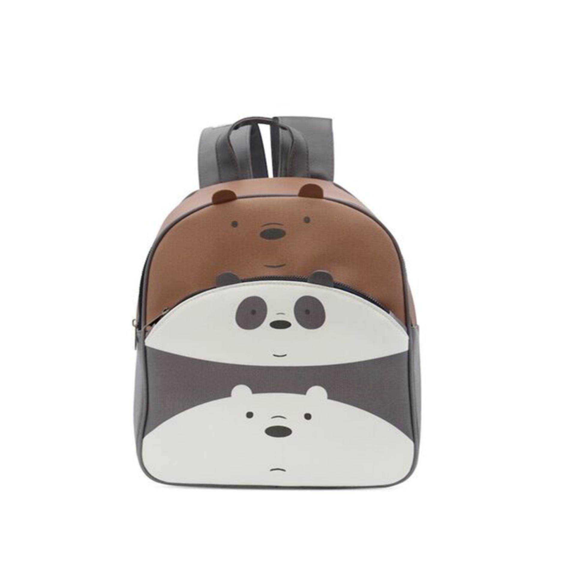 We Bare Bears Adult Backpack 14 Inches - Multicolour