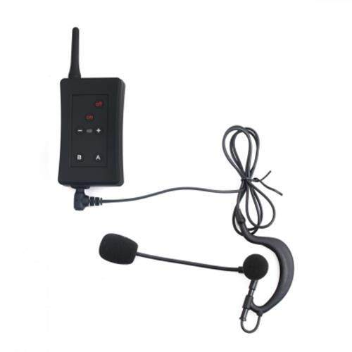 FBIM FULL DUPLEX BLUETOOTH INTERPHONE SYNCHRONOUS INTERCOM FM WITH EARPHONE MICROPHONE