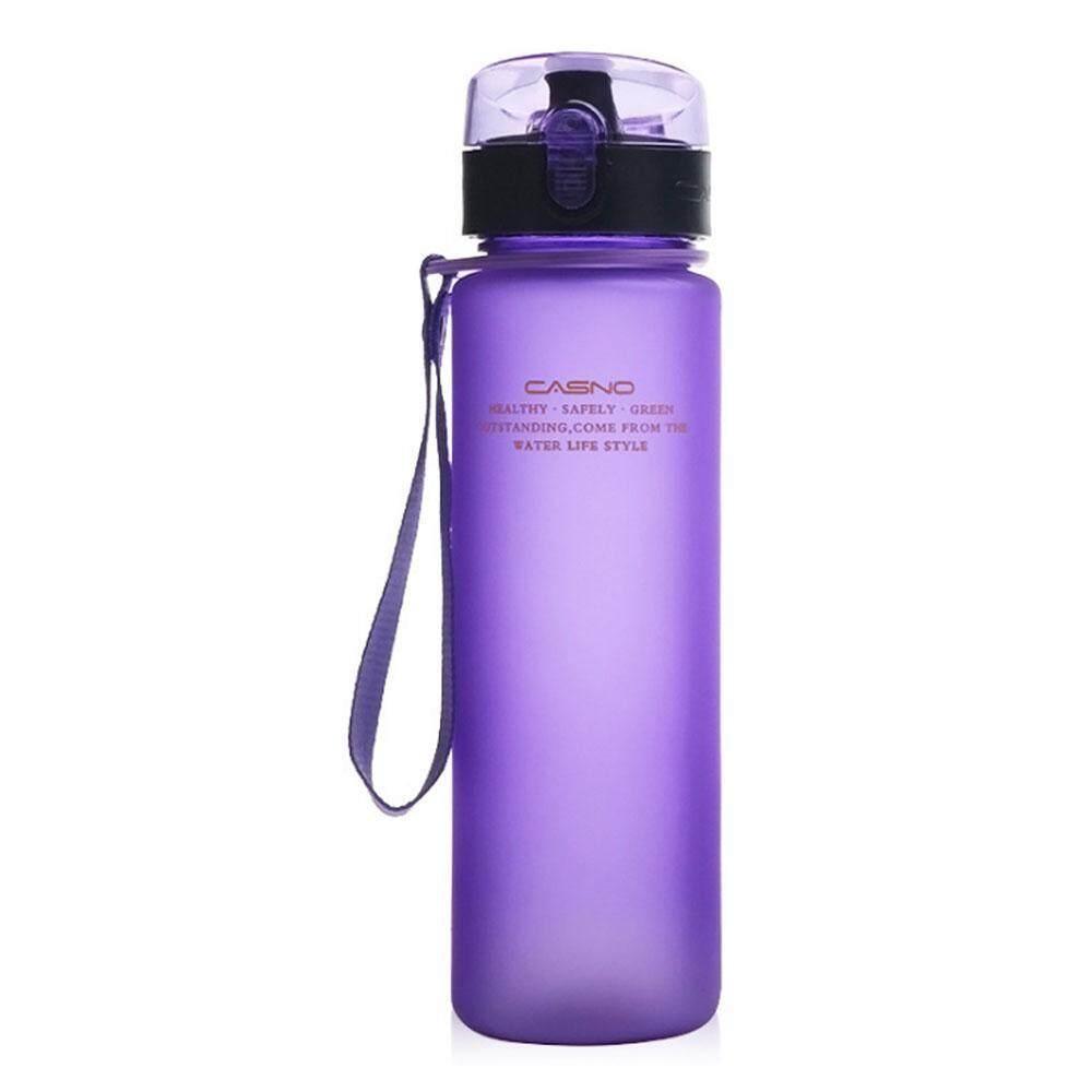Iooiopo 560 Ml Tritan Air Bottle Eco Friendly BPA Bebas Bocor Satu Klik Gratis Lipat Terbaik Buka Ideal untuk Olahraga Yoga Kemah Biking Jogging-Internasional